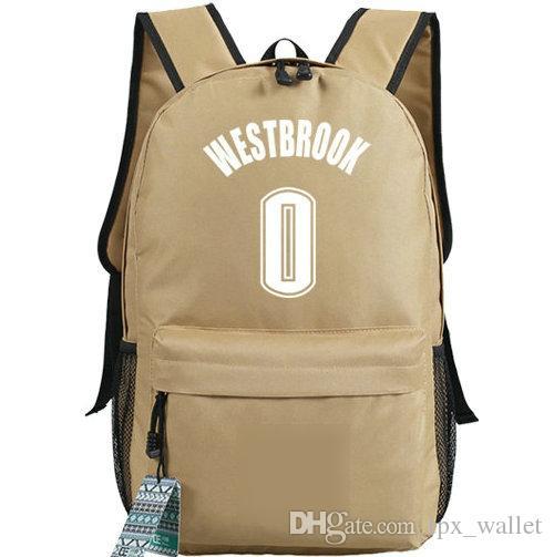 Russell Westbrook backpack First pick daypack MVP star schoolbag Good print rucksack Sport school bag Outdoor day pack