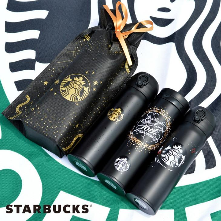 Les derniers 20 nouveaux modèles de Starbucks 16OZ doubles tasses en acier inoxydable, café de voiture tasses, livraison gratuite