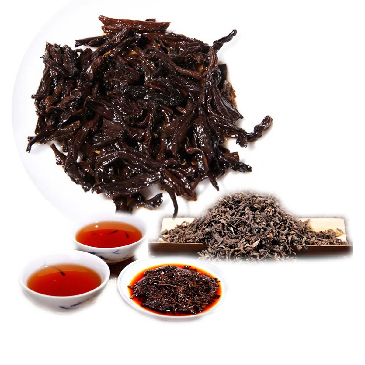 Tercih Olgun Puer Çay Yunnan Gevşek Puer Çay Organik Doğal Pu'er Eski Ağacı Puer Siyah Puerh Çay Pişmiş