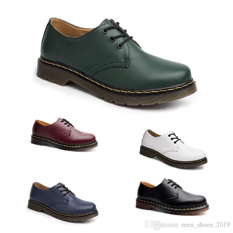 Del envío gratis caliente para no Marca dropshipping zapatos de los hombres de vino negro de moda rojo azul verde blanco zapatos casuales diseñadores tamaño 39-44 de objeto 24