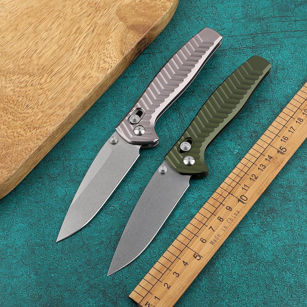 AXIS sopravvivenza di caccia di campeggio piegante tasca strumento 781 coltello 781 D2 maniglia di alluminio acciaio