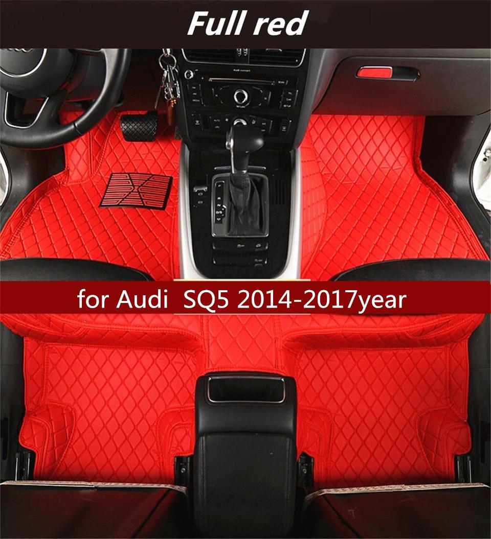Audi SQ5 2014-2017year antiscivolo non tossico tappetino tappetino auto