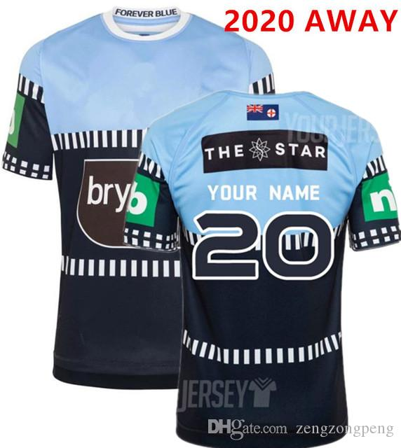 2019 NEW SOUTH WALES BLUES HOME PRO JERSEY NSW STATE OF ORIGIN 2018 ELITE TRAINING TEE LIGHT NSW SOO 2018 RUGBY size S-3XL