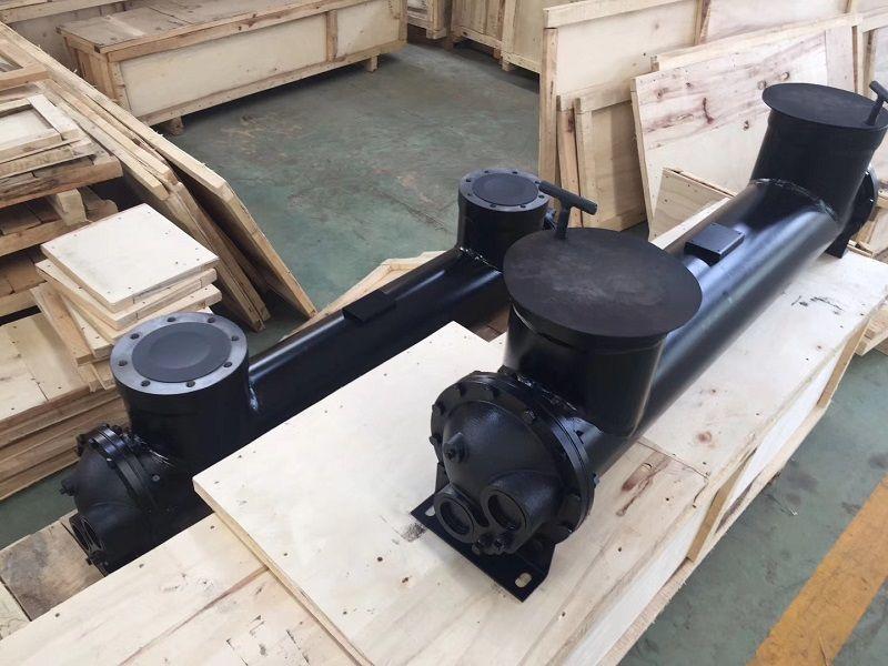 Бесплатная доставка OEM 2205178364 для LU250 винтового воздушного компрессора масляного радиатора охладителя охладитель воздуха
