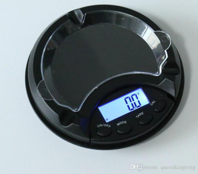 Weight Scale Digital electronics balance Household Scales Kitchen LCD display 500g/0.1g 200g/0.01g 100g/0.01g With Ashtray Function