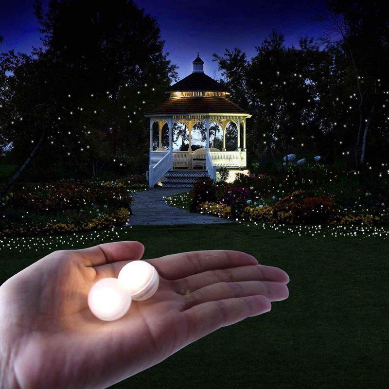 Promosyon! 100pcs / lot 100 x Yuvarlak Led Flaş Topu Lambası Balon Işık Kağıt Fener Balon Işık Parti wedd CY200522 için uzun bekleme süresi