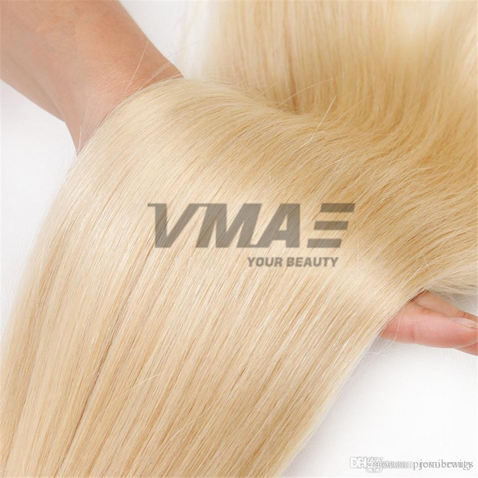 Double Drawn Straight Braiding Hair Bulks No Weft Raw Unprocessed Human Hair Bulk 3 Pcs Lot 14 To 26 Inch Black Blonde