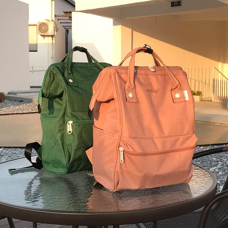 Kadınlar Erkekler için Keten Dayanıklı Laptop Sırt Çantası Seyahat Sırt Çantası Büyük Bezi Çanta Çanta Öğrenci Omuz Okulu