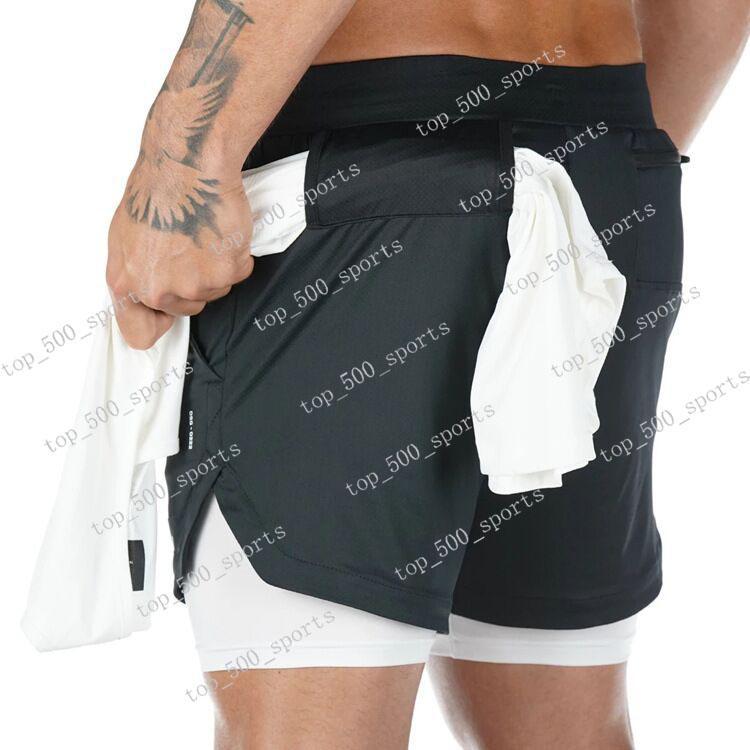 2020 년 새로운 남성 스포츠 체육관 압축 포켓의 착용에서 기층 짧은 바지 운동 솔리드 스타킹영