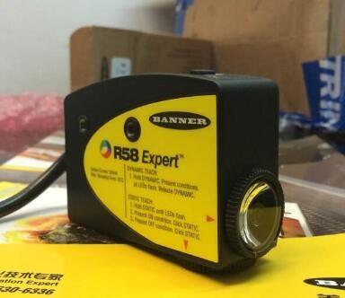 1 PC Original Novo Banner R58ECRGB1 Sensor de Interruptor Fotoelétrico Na Caixa