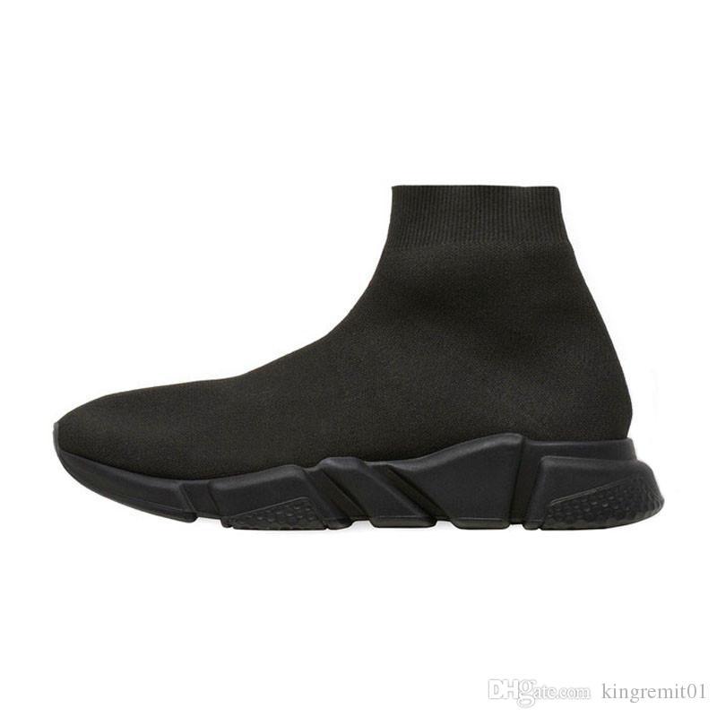 Designer Turnschuhe Socken Schuhe heiße Art und Weise Männer Frauen Runner schwere alleinige Geschwindigkeit Trainer schwarz weiß blau pink glitter Mens Trainer Freizeitschuh