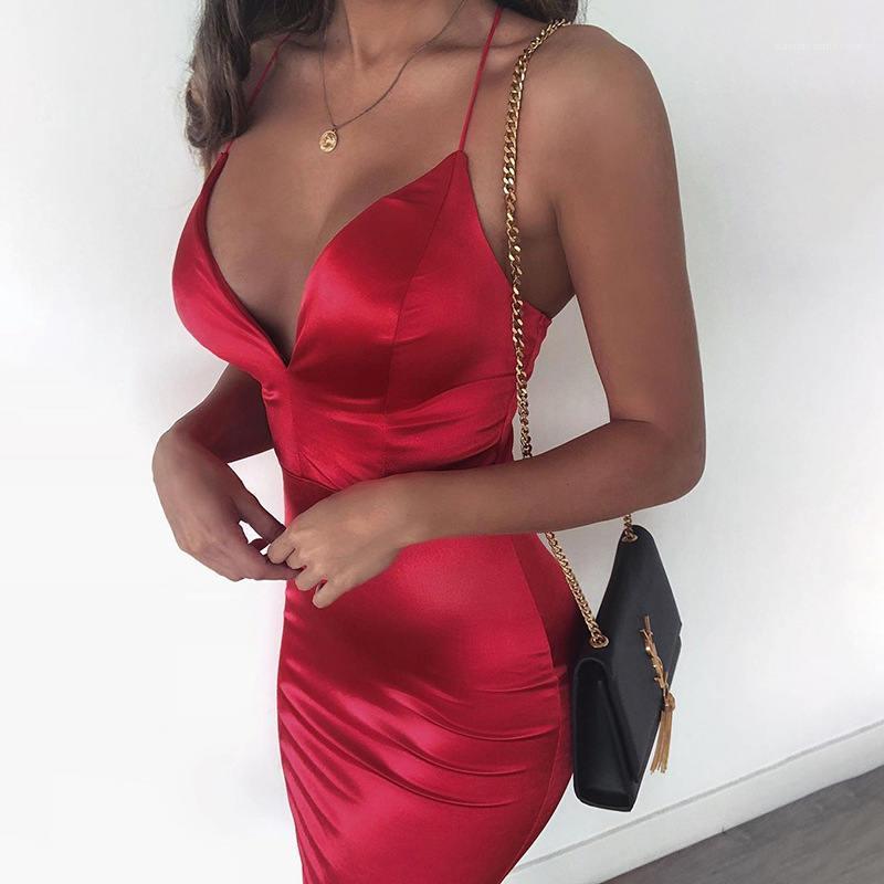 Solide Couleur Robe Femmes Casual moulante Robes Femmes Sexy Designer Vêtements manches Zipper