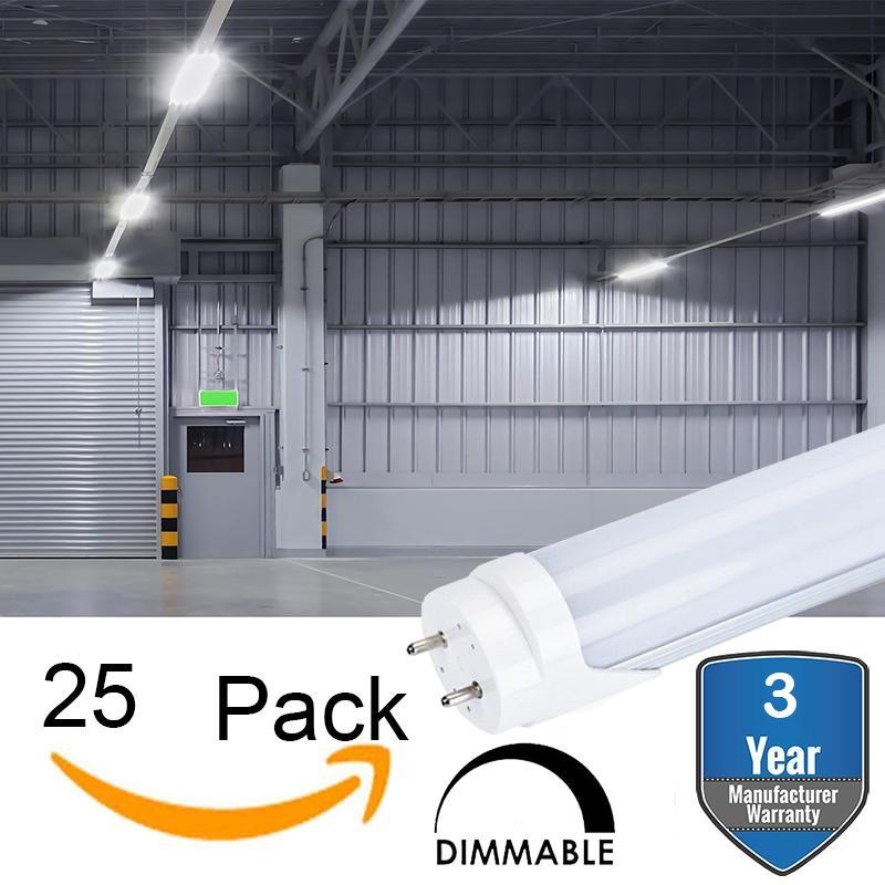 Dimmable T8 Tube Led Lamp Led Shop Light Single Ended Power