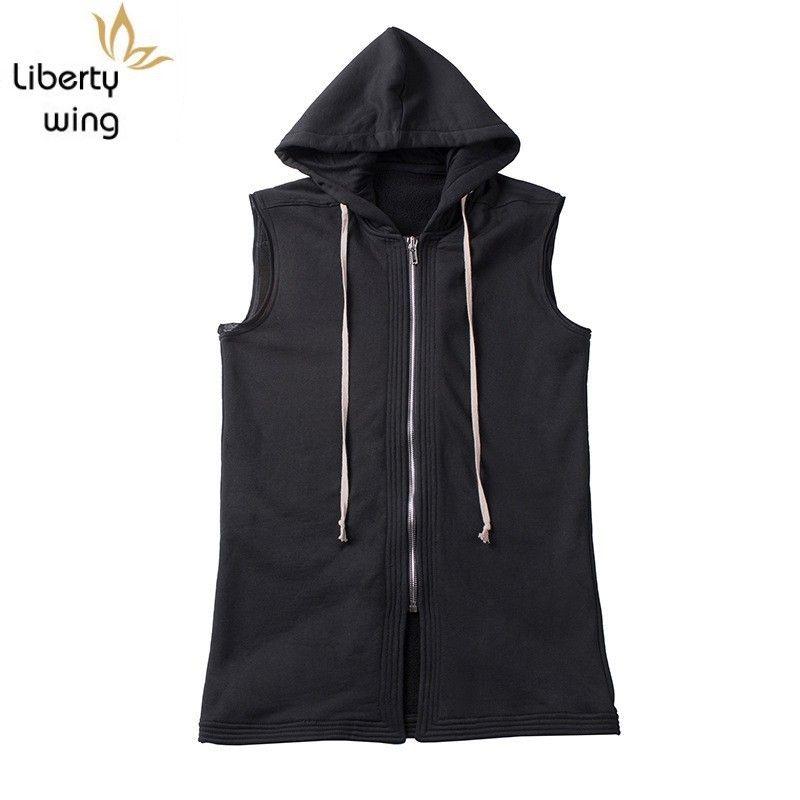 2020 New Outumn Winter Fleece Hoodies Men Black Harajuku Hop Zipper Slevel Fit Sweights Tops Mens Brand Clothes
