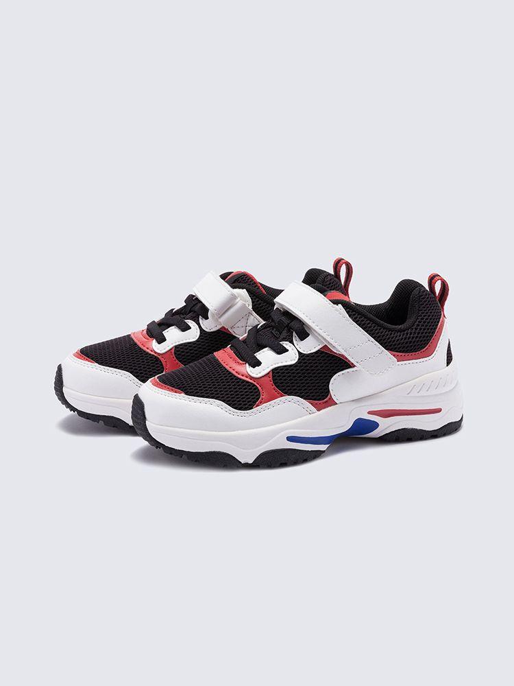 Niñas zapatos rojos viejos muchachos netas de calzado deportivo de los niños nuevos zapatos de primavera y otoño de los muchachos grandes