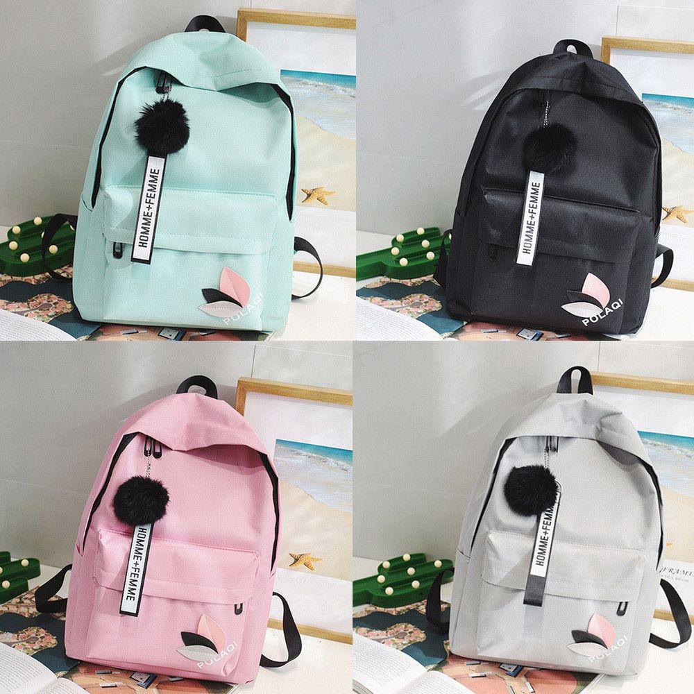 Designer- High Quality New Arrival Women's Canvas Backpack School bag For Teenager Girls Rucksack Design Travel Laptop Pouch