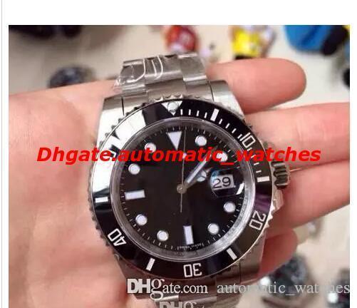 12 Montres de luxe de style Série automatique Mouvement Montres 116713 116610 114060 116613 mécanique Bleu luminescentes Cadran automatique Mens Watch