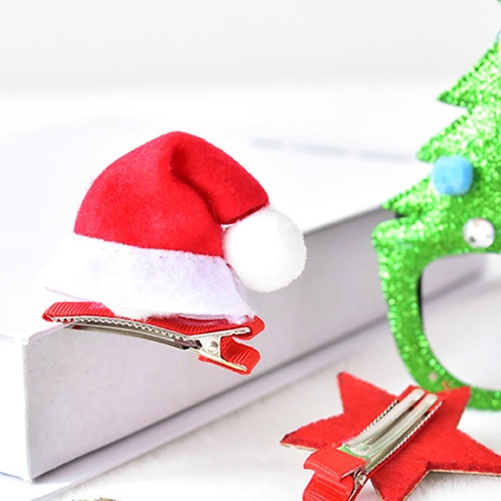 Hediye Kutusu Takım Elbise Noel Kostüm Takı Noel Gözlük Çerçevesi Firkete Hadband Tiara Kabarık Süsleri Küçük Hediye