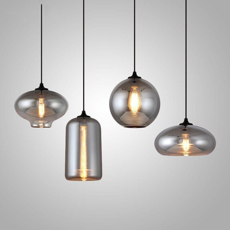دروبشيبينغ الشمال قلادة الأنوار الحديثة مصمم زجاج المتحذلق مصابيح فن الديكور ضوء مصباح بار المطبخ غرفة الطعام