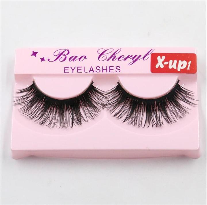 Hot 32 estilos X-up Faixa 3D Mink Lashes Natural Grosso Handmade False Falso Cílios Eye Lashes Extensão Maquiagem