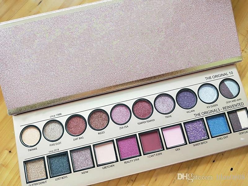 Makeup Современная палитра тени для век 20 цветов ограниченная теней для век с кистью розовый