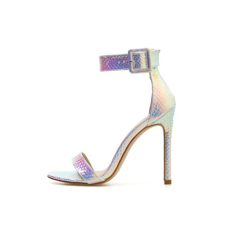 Sommer-Schuhe für Frauen Sandalen Fersen 11CM Frauen-Sommer-Schuhe in Übergrößen Damen Schuhe Gladiator Sandalen Frauen-Absatz