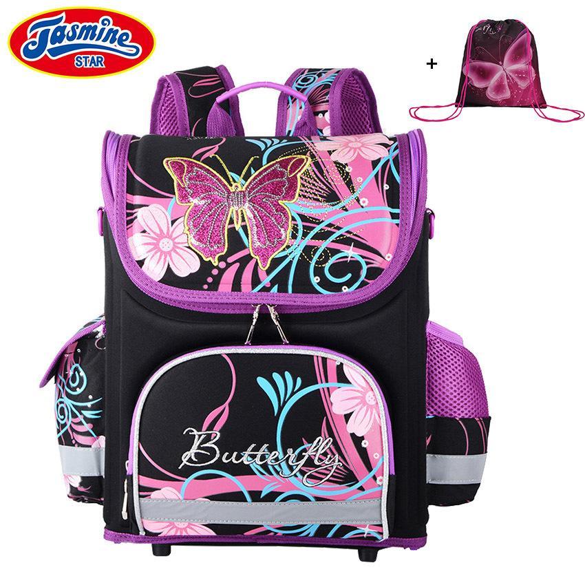 Jasminestar детский детский мультфильм сумки мальчиков аниме школьный рюкзак для девочек ортопедическая школьная сумка J190614