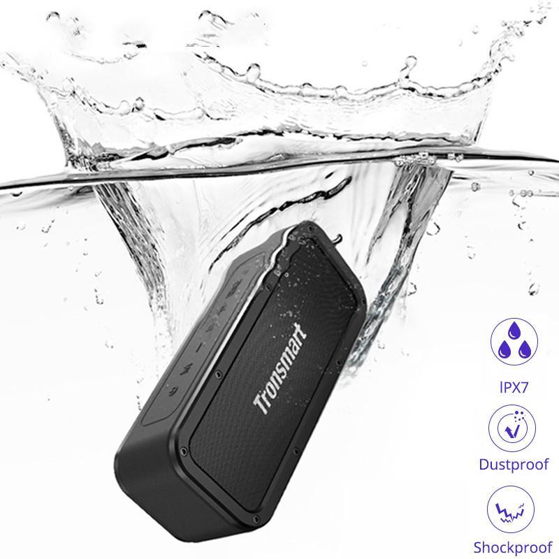 Kraft Bluetooth Lautsprecher 40W beweglichen Lautsprecher IPX7 wasserdicht 15H Spielzeit mit Subwoofer, NFC, TWS, Voice Assistant