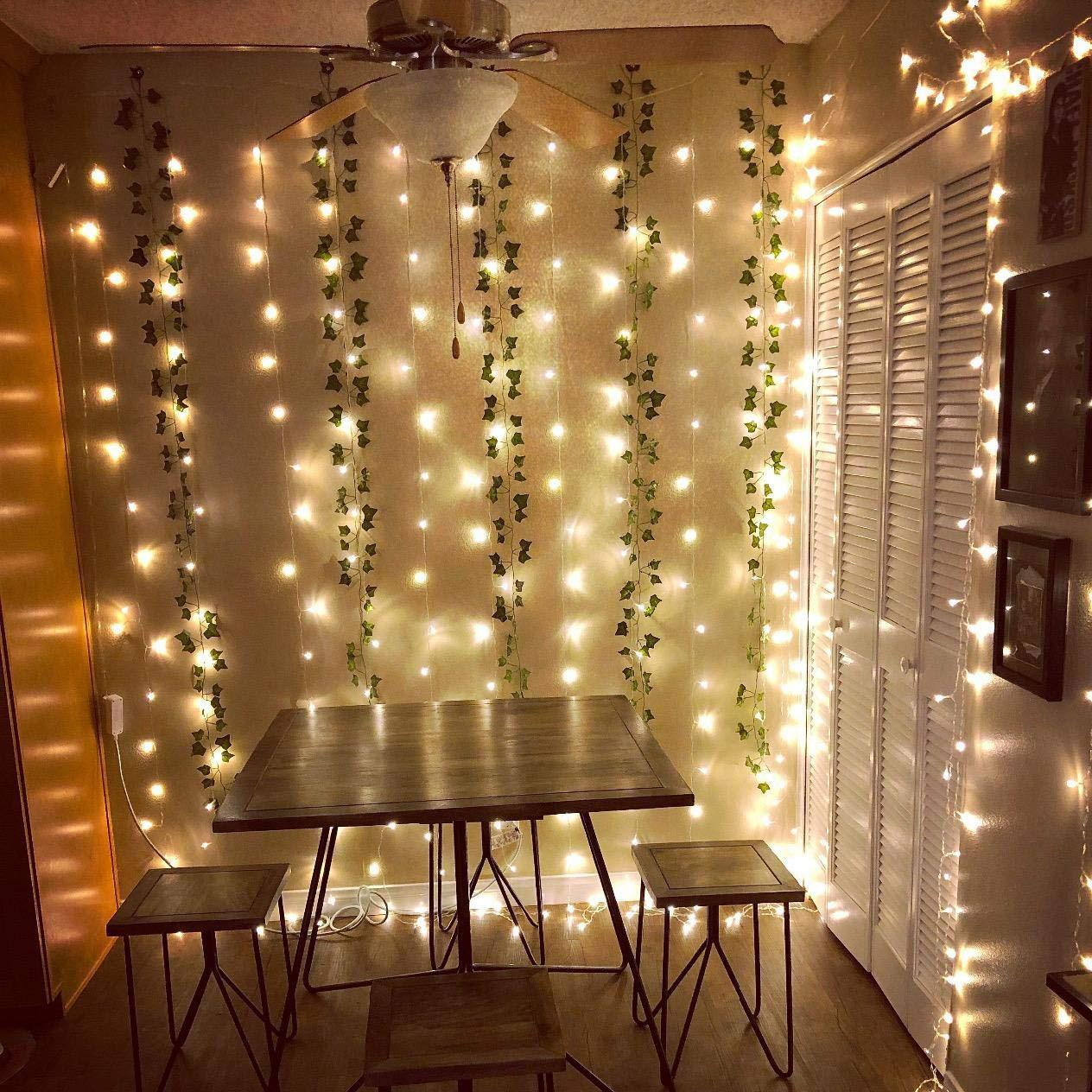Led Window Curtains Lamp Room Decoration Amazon Lamp String 18w Low  Pressure Lamp String European General Purpose Party Christmas Lights  Christmas