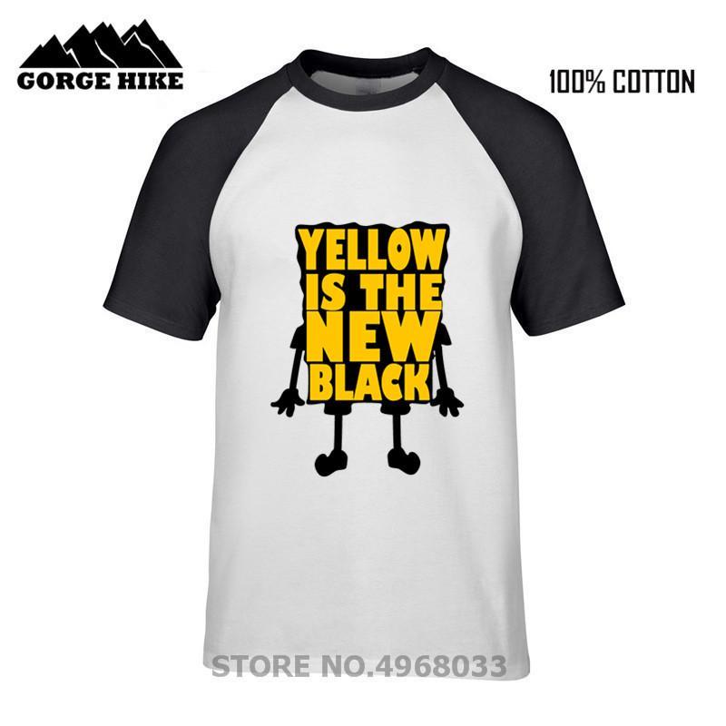 Valentine's Day Gift Boy Yellow es la nueva camiseta negra con estampado de letras B-Y Hombre Black Tops Refreshing Summer Cotton Tee Shirts