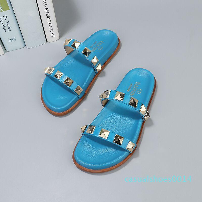Frauen Sandalen Männer Designer Sandalen Design Folien Frau Pantoffeln Hochwertige Gladiator-Sandalen Männer Flip-Flops mit der Box c14