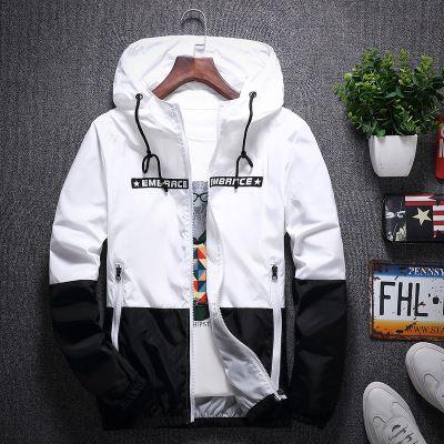 Spring Fashion Trend Mens Patchwork Giacca casual Designer Frangivento cappotto di lusso Colpire Outerwear Nuova vendita calda 2020 5colors