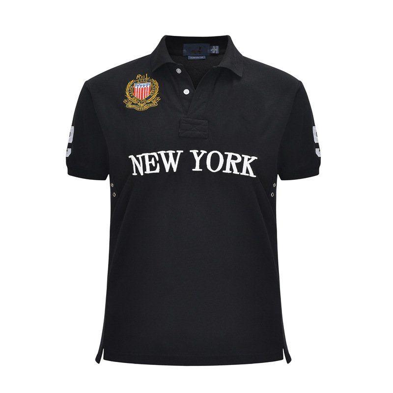 T 셔츠 스포츠 비즈니스 높은 qualityMensMens 여름 새로운 수석 남자의 폴로 셔츠 남자 짧은 소매 캐주얼 패션 폴로 셔츠 남성의 고체 공동