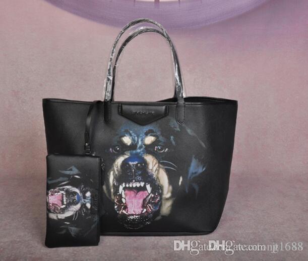 2019 borse all'ingrosso GIV Shipp libero 46 stili di moda sacchetti delle signore delle borse designer borse delle donne sacchetti di tote di stampa cane borsa grande borsa