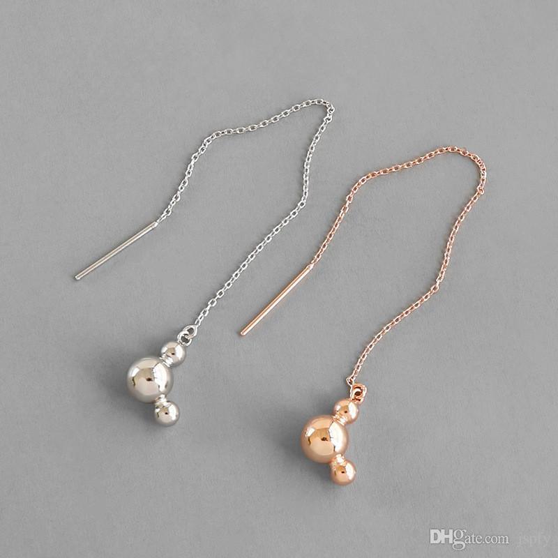 Pearl Bracelet Chain Drop Pink Freshwater Silver Womens Jewellery Gift Bag UK