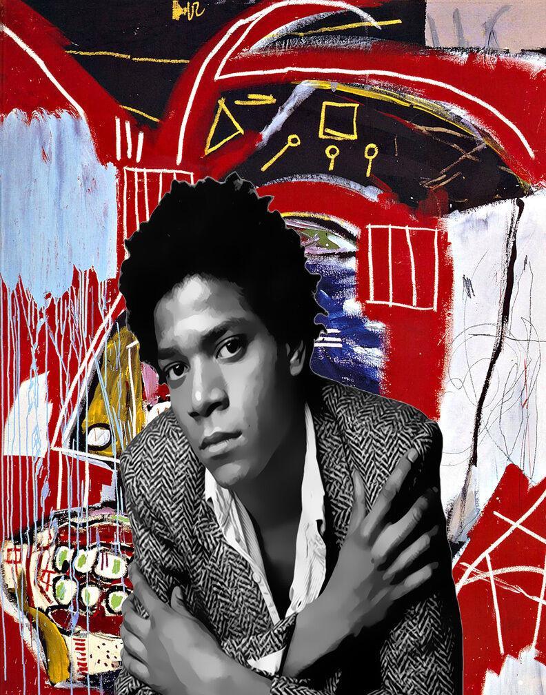 Jean Michel Basquiat On Tuval Wall Art Canvas Resimler 200.306 Boyama 4. Ev Dekorasyonu El Sanatları / HD Baskı Yağ