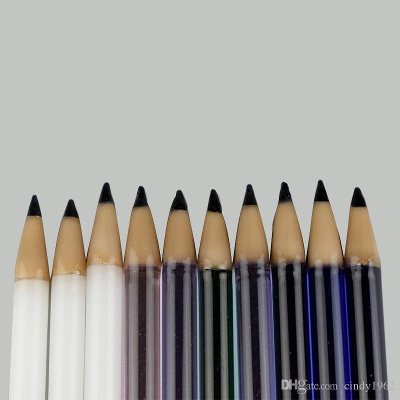 Naturgetreue 5,8 Zoll einzigartiger Bleistiftentwurf Glasbongs Ölbrenner Konzentrat Handrohr tragbarer Dampf Bongs Zubehör