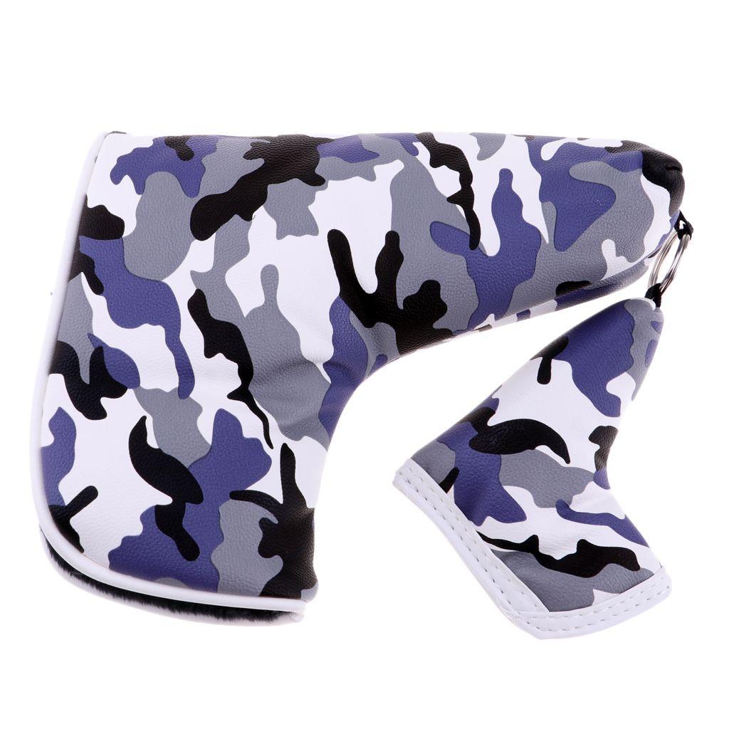 Multifunktions-Golf Blade-Putter-Kopf-Abdeckung Headcover Universal-Schutz-Beutel-Zubehör