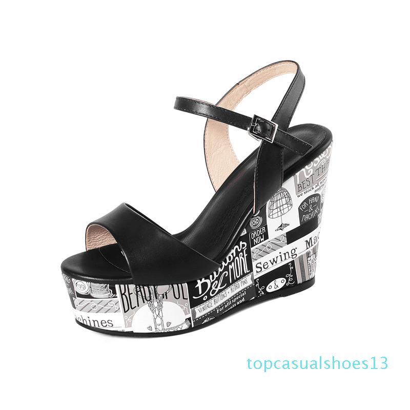 MORAZORA 2020 New coins pompes véritables Les femmes sexy en cuir femmes de mode marque plateforme chaussures de mariage de fête d'été t13