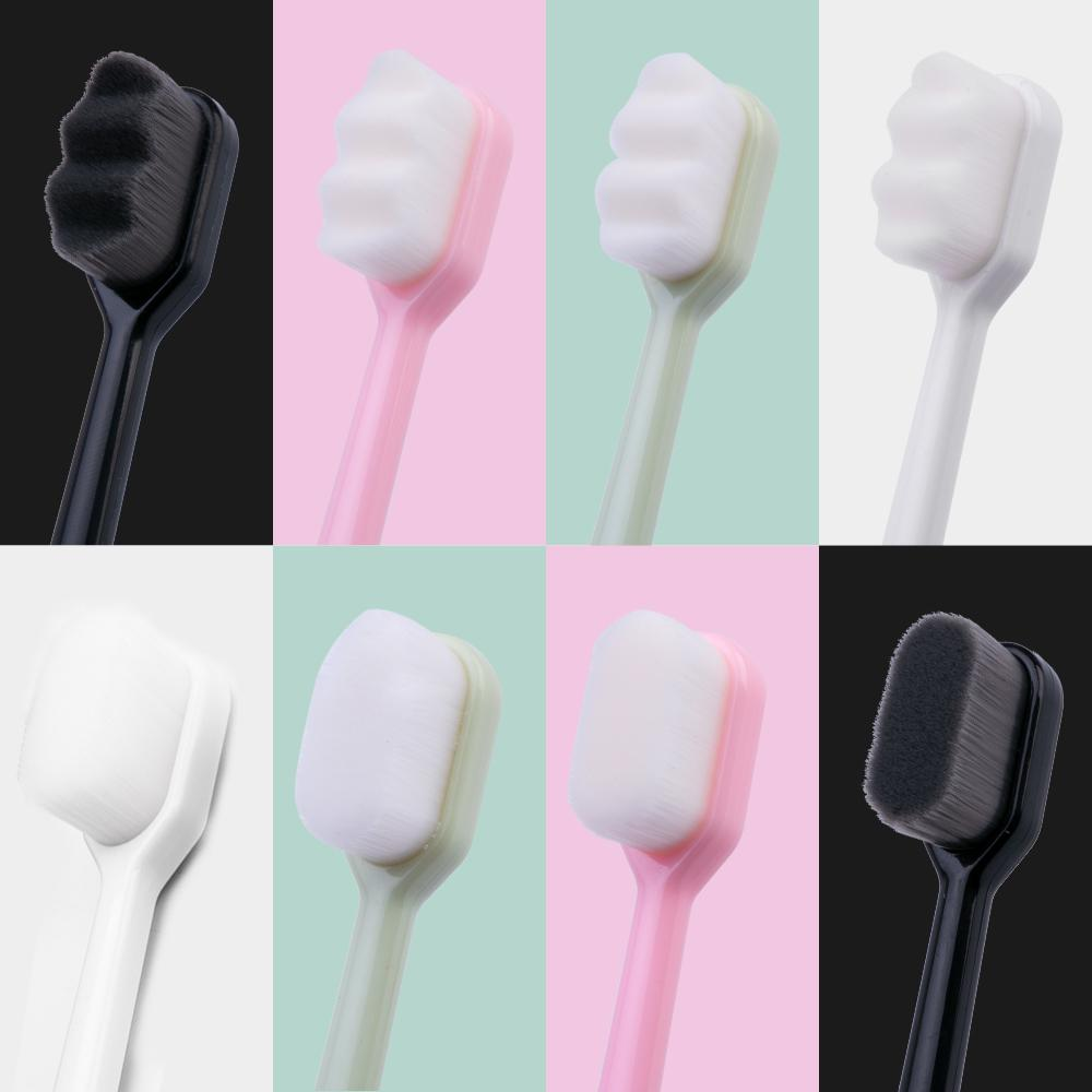 2019 Hot Sale New Upgrade Version Of Million Toothbrush Soft Hair With 12,000 Ultra-fine Bristles Caring For The Gums And Mouth