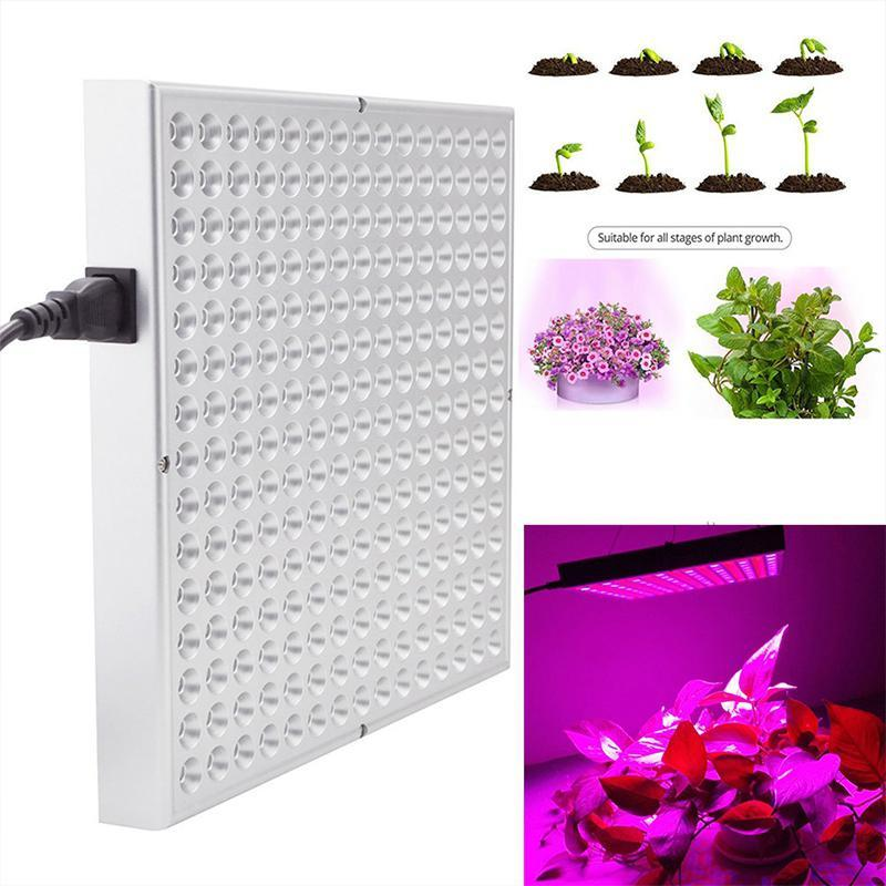 wholesale 45W 85-265V 225 LED Red-blue Light Plant Grow Light for Indoor Garden Flower Hydroponics Greenhouse Supplies