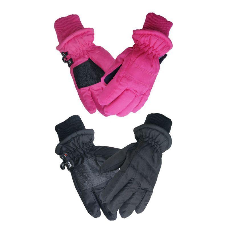 Bambini Guanti invernali caldi guanti di sport esterni di sci impermeabile antivento Sport