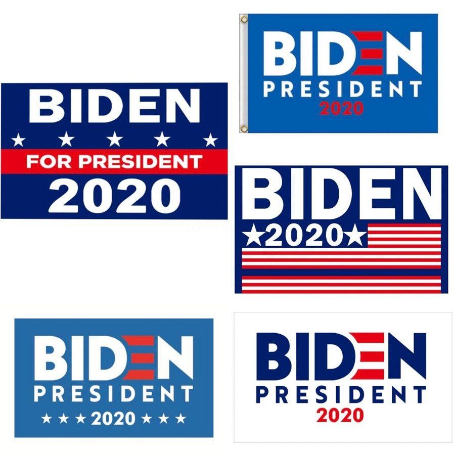 2020 Donald Biden Bandeira Garden Faça América grande bandeira do partido Biden Novamente Hanging Flags Jardim Decoração Início Pennant 90 * 150 centímetros 12 Styles # 783