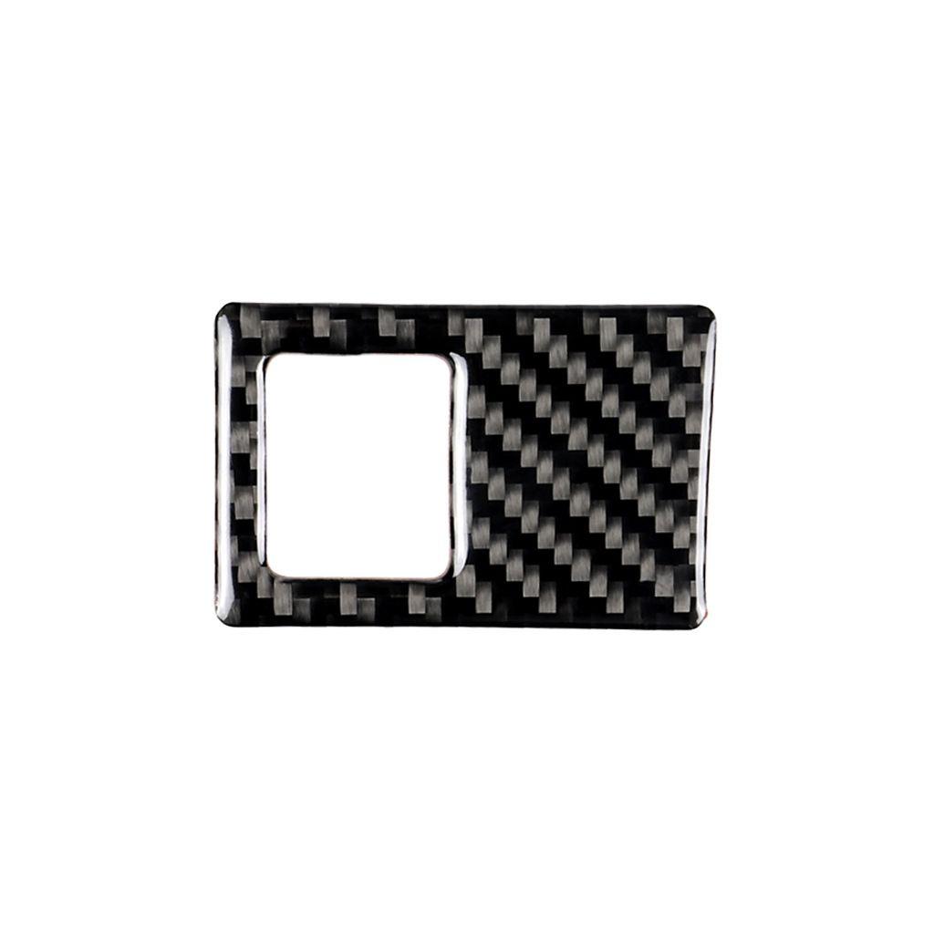 Fashion Design Carbon Fiber Car Interior Mouldings Accessories Console Emergency Light Switch Frame Interior Trim for Golf 7 2013-2017