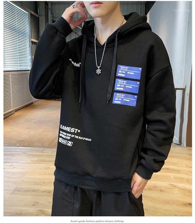 Mens Designer Lettera Stampa hoodies di modo Pullover o collo Mens felpe casual solido di colore Maschi Abbigliamento