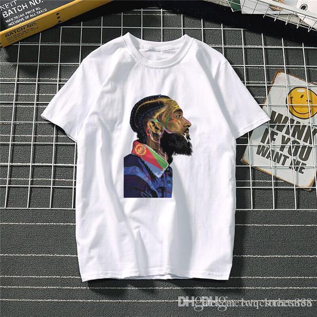 rappeur de mode hip-hop rue style des femmes des hommes T-shirts court Joker O-cou des femmes manches courtes hommes Hauts été pour hommes
