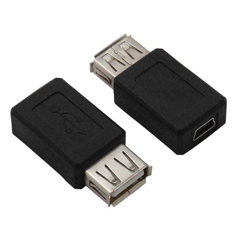 USB Erkek Adaptörü USB Konnektör Uzatma Adaptörü Kadın 5pin Mini USB