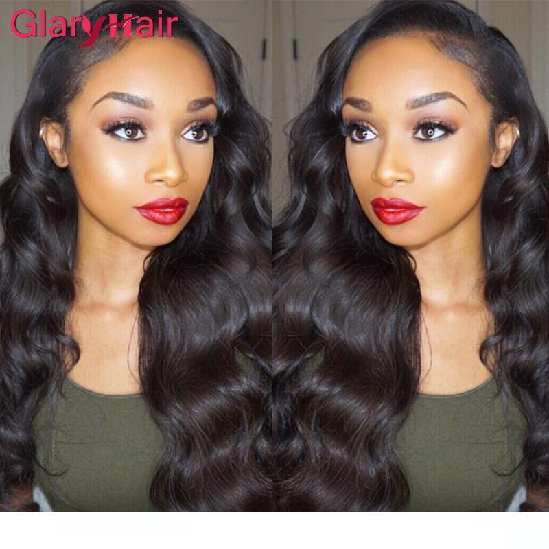 A Super Nice Glary Body Wave Hair Weaves Virgin Brazilian Human Hair Extensions Mix Order Real Cheap Remy Human Hair Bundles 1b Natural