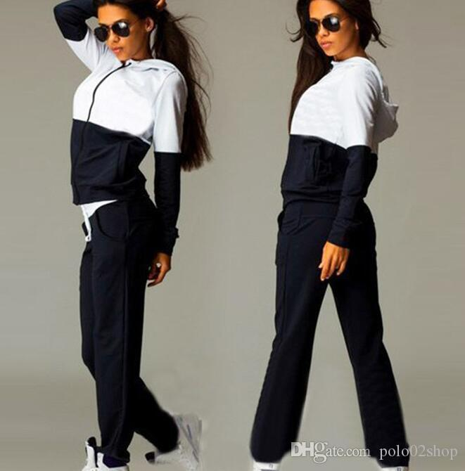 2021 Womens Sports Suits Sexy Tracksuit Set Women Sportswear Jogging Track Suit  Women Sport Set Two Piece Set Women From Polo02shop, $17.97   DHgate.Com