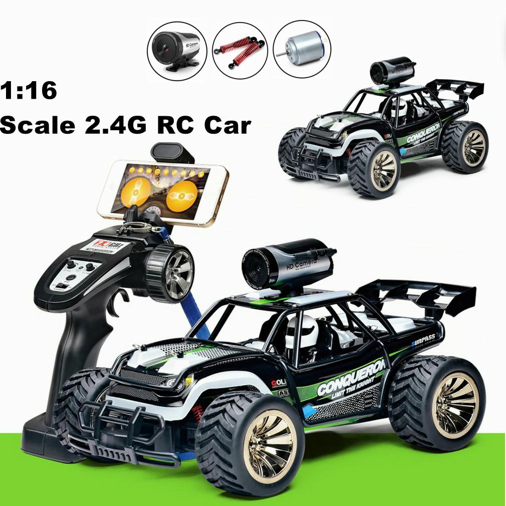 1 16 Scale 2 4g High Speed Remote Control Rc Car Bg1516 Wifi Fpv Racing Car With Camera Buggy Off Load Car Hz Radio Control Car Kits Remote Controlled Cars For Sale From Liuyanggame